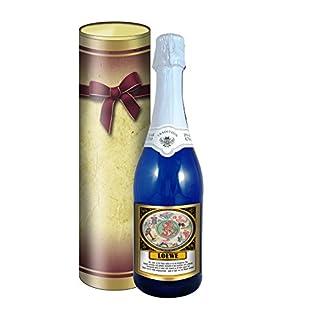 Sternzeichen-Lwe-075l-Sekt-Mosel-blaue-Flasche-in-der-Geschenkdose-im-Schleifendesign