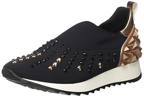Cult Cream Slipon 1215, Sneakers basses femme Multicolore (Black/Pink Gold)