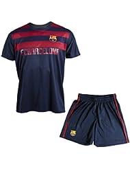Maillot + short Barça - Collection officielle FC BARCELONE - Taille enfant garçon