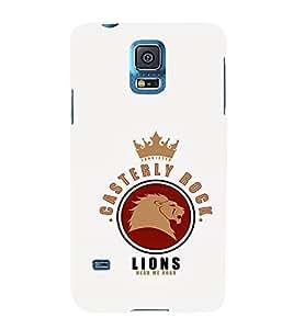 EPICCASE Casterly Rock Lions Mobile Back Case Cover For Samsung Galaxy S5 (Designer Case)