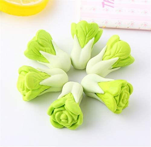 SunnyGod Cadeau pour Les Enfants 4 pcs créatif en Forme de Chou Gomme Mignon légume Mini-Caoutchouc | Outlet Online Store