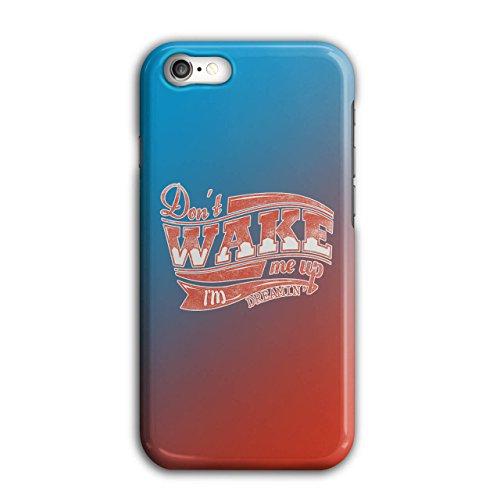 nicht Aufwachen Oben Faul Slogan Warnung iPhone 8 Hülle | Wellcoda