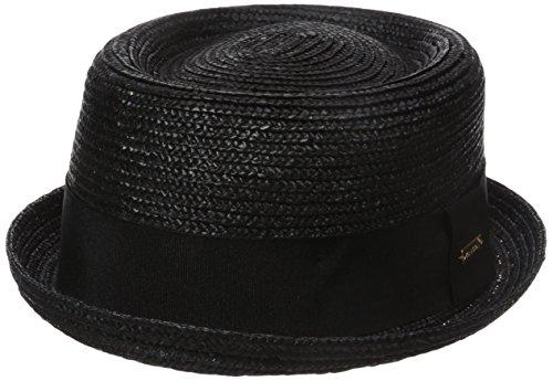 Kangol Unisex Hüte Wheat Braid Porkpie Schwarz