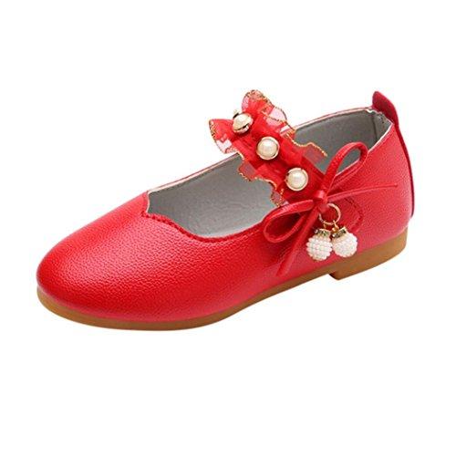 7dc416ac808db ELECTRI Fille Butterfly Chaussures Princesse BéBé Filles Pendentif perle  Bow Sandales Enfants Casual Dans Mariage Chaussures