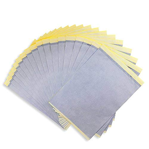 oruuum 20Stück Tattoo Papier Übertragung Schablone Papier.