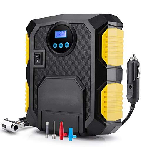 AWIS Digital Gummireifen,Tragbare 12V Auto Luftkompressor Pumpe,100 PSI Auto Luftkom Pressor,für Auto Moto Fahrräder -