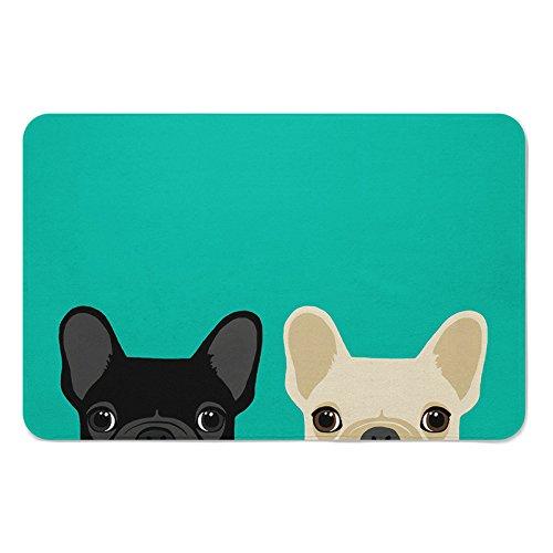 Loozoom Alfombrilla Antideslizante para Comer Mascotas, Mascotas, Perros, Cachorros, Cuencos, Agua, Alimentos,...