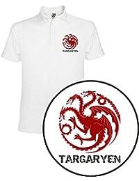 Polo de Mujer Juego de Tronos Stark Tyrion Dragon Daenerys Khaleesi Valar