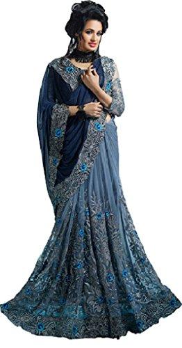 Sunshine Fashion Girls' Georgette Achkan Salwar Suit Set (Sund114_Green_Free Size)