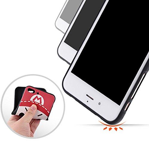 iPhone 7 Plus Coque, WindCase Motif Vivant en 3D Design TPU Case Anti Résistant Étui Housse Protection pour iPhone 7 Plus 5.5-pouce -XY03 XY10