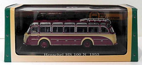 Atlas Editions 1/76 Scale Diecast 7 163 103 - 1953 Henschel HS 100 N - Maroon   Mode