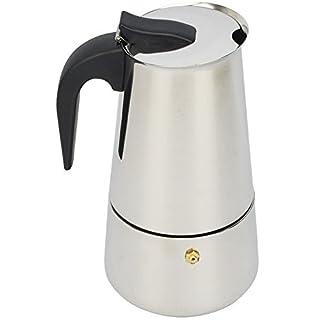 ATWFS Moka Espresso Coffee Maker Latte Pot Percolator Stove Top - 6 cups