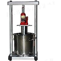 Prensa de frutas grandes - Dispositivo de presión manual de 12-36 litros - Aluminio