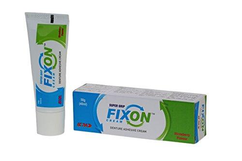 Fixon Denture Adhesive Cream 50 gm(40 ml) (pack of 2)