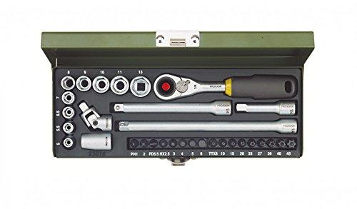 Preisvergleich Produktbild Proxxon Feinmechaniker Steckschlüssel und Schraubersatz