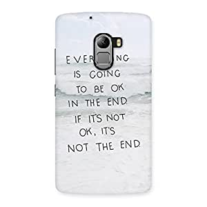 Neo World The End Back Case Cover for Lenovo K4 Note