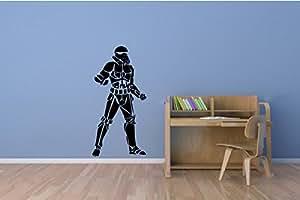 Star Wars Storm Trooper Silhouette Sticker mural en vinyle