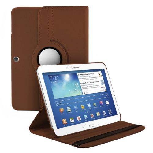 kwmobile Hülle kompatibel mit Samsung Galaxy Tab 3 10.1 P5200/P5210 - 360° Tablet Schutzhülle Cover Case (Case Ziemlich Samsung 3 Tab Galaxy)