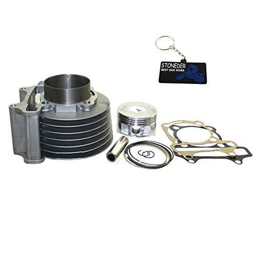 STONEDER 180cc Zylinder 61mm Big Bore Kit für GY6125150cc 1P52QMI 1P57QMJ Scooter ATV (Gy6 Big Bore Zylinder Kit)