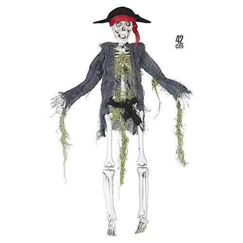 WIDMANN 01384?Esqueleto Pirata, tamaño Aprox. 42cm