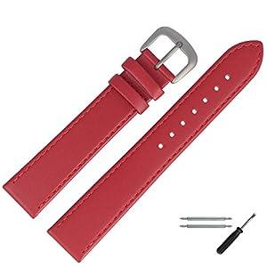 MARBURGER Uhrenarmband 14mm Leder Titan – Werkzeug Montage Set 75914