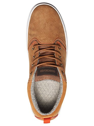 Quiksilver Griffin - Chaussures mi-Hautes pour homme AQYS100020 Marron - Brown/Brown/Orange