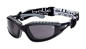 Bollé - Tracker II - Lunettes de Sécurité - Smoke Lens