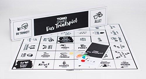 Das-Trinkspiel-Trinktisch-Trinkspiel-Saufspiel-TOMO-GAMES-Silikonmatte-Splmaschinenfest TOMO GAMES Das Trinkspiel -