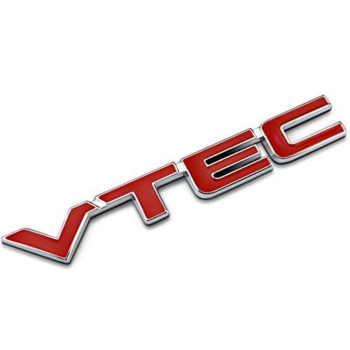 Red TURBO DIESEL//STAINLESS STEEL EMBLEM CAR TRUNK LOGO BADGE