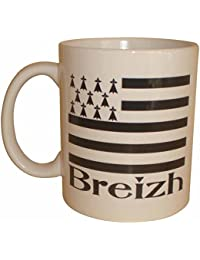 PATOUTATIS - Mug breton BREIZH Bretagne BZH Gwenn ha du