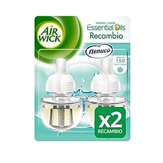 Recambio para ambientador eléctrico Air Wick Duplo Nenuco 19 ml (Pack de 2)