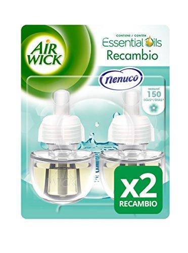 Air Wick Ambientador Eléctrico Recambio Duplo Nenuco, 2 x 19 ml - Total: 38 ml