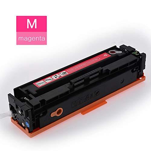 Tonerkartusche für CF530A 205A HP Color Laserjet Pro M154a M154nw M180N M181FW Laserdruckerpatrone, sehr sparsam, ideal geeignet speziell für alltägliche Dokumente. Large magenta -