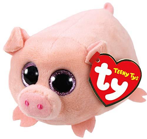 "Teeny Ty Pig - Curly - 8cm 3"""