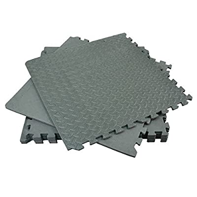Floor Mat Set 6pc Interlocking (Cushion) Rolson - cheap UK flooring store.