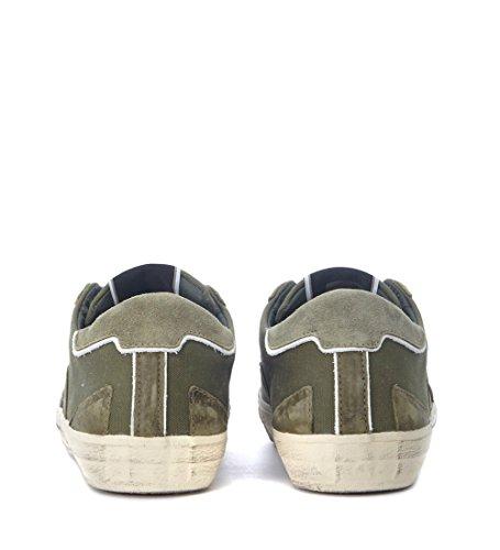 Philippe Modèle Sneaker Bercy En Toile Verde Militare Verde
