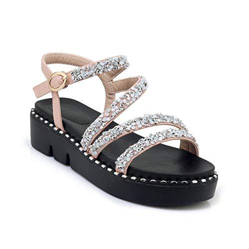 Damen Bhmische Sandalen,Pink Fashion Damen Wedge Platform