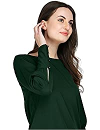 AELO Women's Crepe Full Sleeve Top