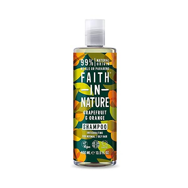 Faith In Nature Grapefruit and Orange Shampoo, Conditioner and Body Wash Trio | Vegan | Cruelty Free | 99% Natural Fragrance | Free From SLS or Parabens 2