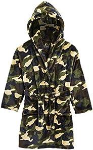 CityComfort Vestaglia Bambina Pile, Vestaglia Calda Notte Bambino Invernale Camouflage Pail Morbidissimo, Idea