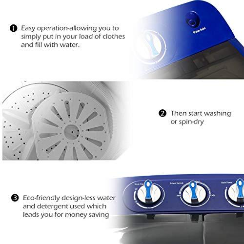 Zoom IMG-3 display4top lavatrice mini capacit 4