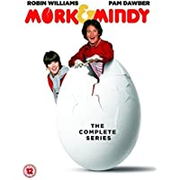 Mork and Mindy Complete TV Classic Comedy Series All 95 Episodes DVD Collection [15 Discs] Box Set: Season 1, 2, 3 and 4 + Extras: 2 Episodes of Happy Days + Gag Reels by Robin Williams
