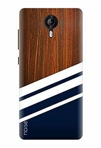 Noise Designer Printed Case / Cover for Micromax Canvas Amaze 2 / Wood / Wooden Diagonals Print Design