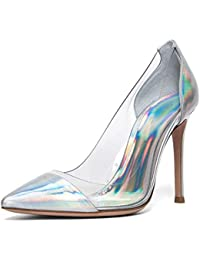 Para Amazon esSandalias Transparentes Zapatos 43 Mujer Aj34L5R