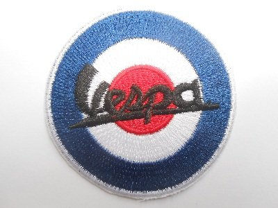 Patches Vespa MOD 's Italy Motorbike