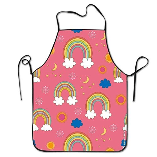 Wfispiy Personalized Aprons Abstract Colorful \r\n Gag Materia Home Kitchen Adjustable Apron Black N White Womens Jacket