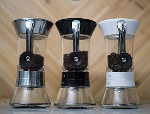 Handground-Precision-Coffee-Grinder-Manual-Ceramic-Burr-Mill-Matt-Black