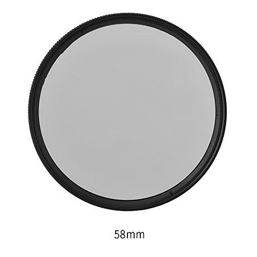 Acouto Polarisations-Filter Für 37mm~82mm Foto-Kameraobjektive,Ultra Slim,hochwertigen Eindruck (58MM)