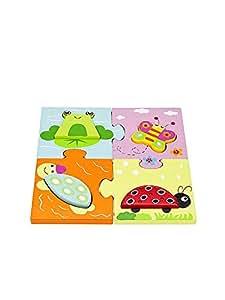 Jouet bebe dévelopement puzzles en bois pour fille ou garçon