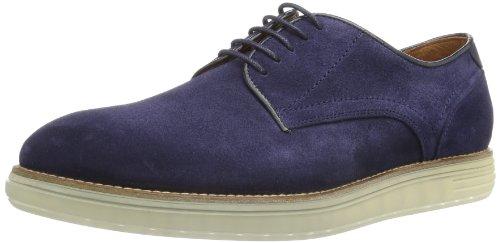 Hudson - Scarpe modello Brogue, Uomo, Blu (Blau (Navy)), 44
